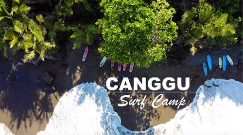 Favourite surf camp in Bali at Canggu area