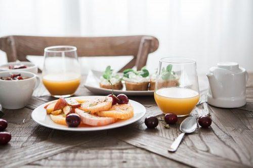 Make favorite foods and drinks in weekend