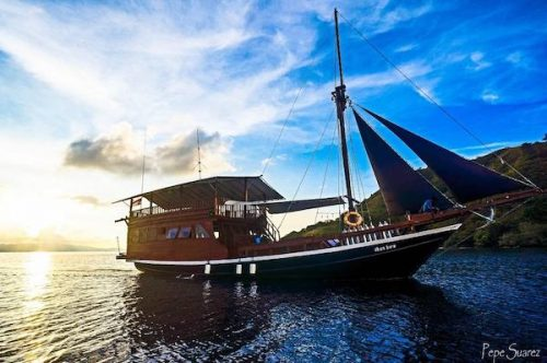 diving cruise in komodo