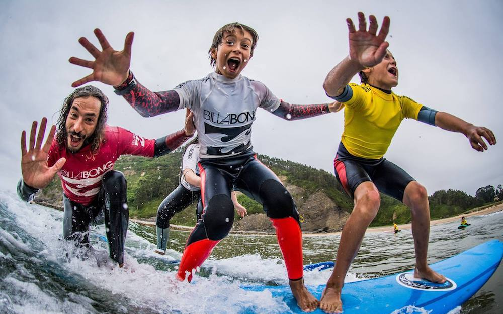 Positive Impacts the Kids Will Get on A Surf Camp