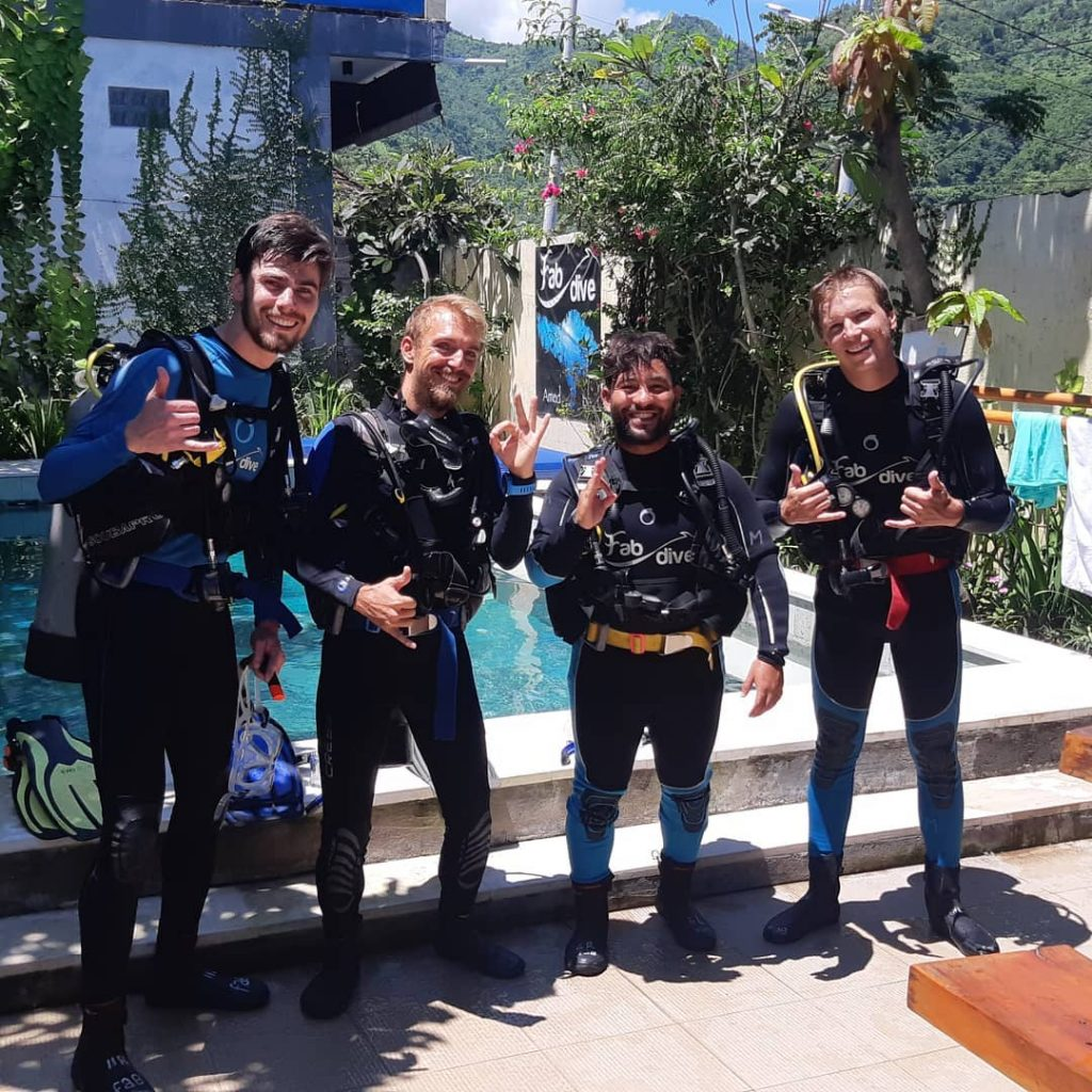 Your Guides to Scuba Diving Safety in Bali